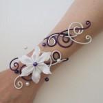 Bracelet_mariage_blanc_aubergine_perles