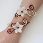 Bracelet_mariage_ivoire_bordeaux