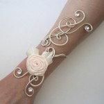 Bracelet_mariage_ivoire_champagne_rose_ivoire