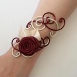 Bracelet_mariage_ivoire_et_bordeaux