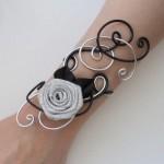 Bracelet_mariage_noir_et_argent