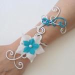 Bracelet_aluminium_blanc_et_turquoise