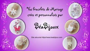 Vidéo Bracelets mariage personnalisés