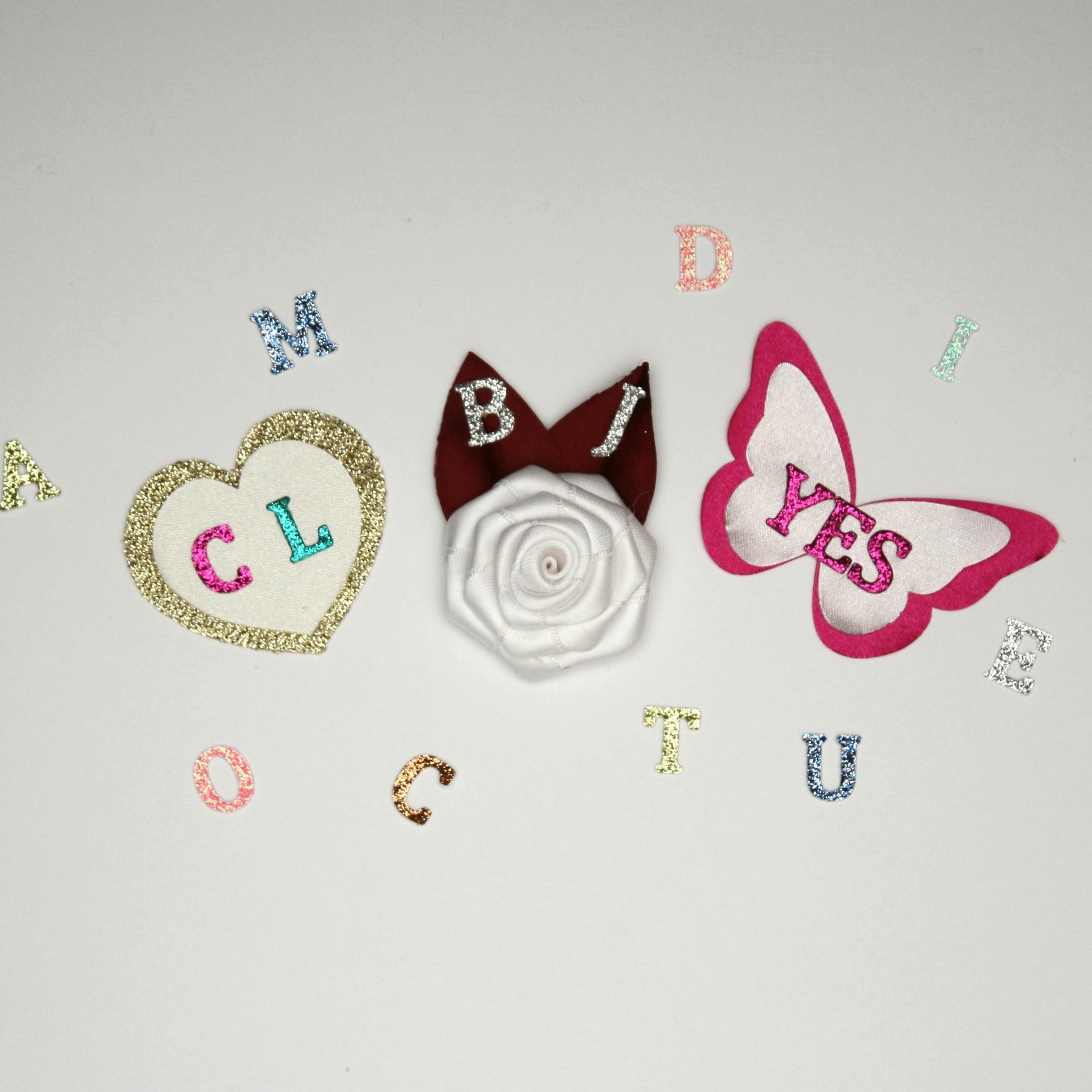 Bijoux mariage avec initiales